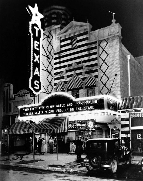 Texas Theatre; Dallas; Jazz Age Sunday Social